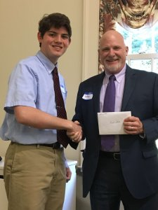 2017 Phi Beta Kappa Scholarship Recipient